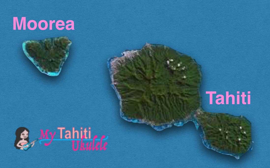 Moorea et Tahiti