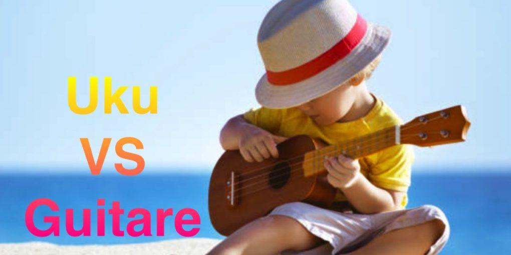 ukulele VS guitare